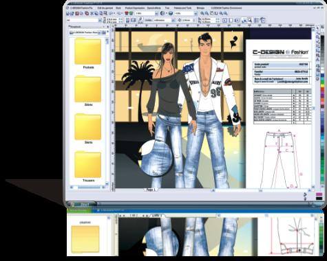 Professional Fashion Design Software System New York
